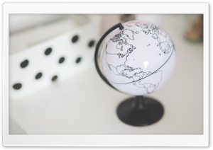 Earth Globe HD Wide Wallpaper for Widescreen
