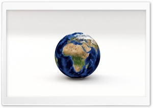 Earth Planet 3D Model Africa, Europe HD Wide Wallpaper for Widescreen