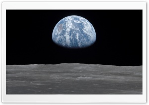 Earth Rise Ultra HD Wallpaper for 4K UHD Widescreen desktop, tablet & smartphone