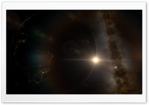 Earth SpaceEngine Ultra HD Wallpaper for 4K UHD Widescreen desktop, tablet & smartphone
