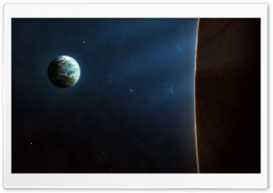 Earth View From Space Ultra HD Wallpaper for 4K UHD Widescreen desktop, tablet & smartphone