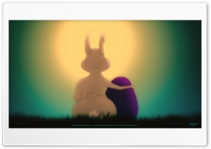 Easter Bunny Ultra HD Wallpaper for 4K UHD Widescreen desktop, tablet & smartphone