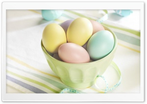 Easter Eggs HD Wide Wallpaper for Widescreen