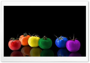 Easter Tomatoes HD Wide Wallpaper for Widescreen