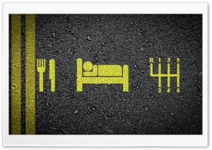 Eat Sleep Drive HD Wide Wallpaper for 4K UHD Widescreen desktop & smartphone