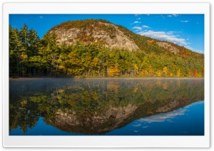 Echo Lake, White Mountains, New Hampshire HD Wide Wallpaper for Widescreen