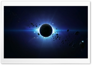 Eclipse HD Wide Wallpaper for Widescreen