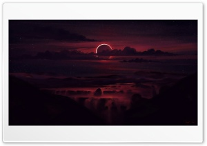 Eclipse Art Ultra HD Wallpaper for 4K UHD Widescreen desktop, tablet & smartphone