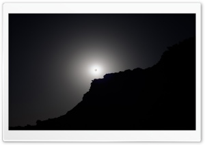Eclipse Black And White HD Wide Wallpaper for Widescreen