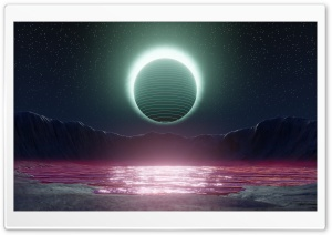 Eclipse SciFi Ultra HD Wallpaper for 4K UHD Widescreen desktop, tablet & smartphone
