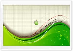 Eco Apple HD Wide Wallpaper for Widescreen
