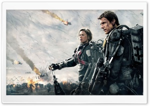 Edge of Tomorrow 2014 Ultra HD Wallpaper for 4K UHD Widescreen desktop, tablet & smartphone