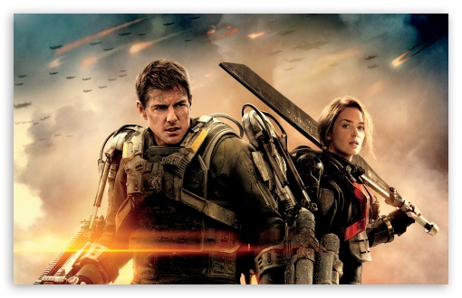 Edge Of Tomorrow Emily Blunt And Tom Cruise HD wallpaper for Wide 16:10 5:3 Widescreen WHXGA WQXGA WUXGA WXGA WGA ; HD 16:9 High Definition WQHD QWXGA 1080p 900p 720p QHD nHD ; Standard 4:3 5:4 3:2 Fullscreen UXGA XGA SVGA QSXGA SXGA DVGA HVGA HQVGA devices ( Apple PowerBook G4 iPhone 4 3G 3GS iPod Touch ) ; Tablet 1:1 ; iPad 1/2/Mini ; Mobile 4:3 5:3 3:2 16:9 5:4 - UXGA XGA SVGA WGA DVGA HVGA HQVGA devices ( Apple PowerBook G4 iPhone 4 3G 3GS iPod Touch ) WQHD QWXGA 1080p 900p 720p QHD nHD QSXGA SXGA ; Dual 16:10 5:3 16:9 4:3 5:4 WHXGA WQXGA WUXGA WXGA WGA WQHD QWXGA 1080p 900p 720p QHD nHD UXGA XGA SVGA QSXGA SXGA ;