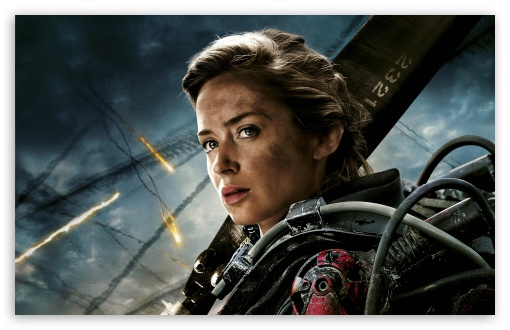 Edge Of Tomorrow Emily Blunt as Rita Vrataski HD wallpaper for Wide 16:10 5:3 Widescreen WHXGA WQXGA WUXGA WXGA WGA ; HD 16:9 High Definition WQHD QWXGA 1080p 900p 720p QHD nHD ; UHD 16:9 WQHD QWXGA 1080p 900p 720p QHD nHD ; Standard 4:3 5:4 3:2 Fullscreen UXGA XGA SVGA QSXGA SXGA DVGA HVGA HQVGA devices ( Apple PowerBook G4 iPhone 4 3G 3GS iPod Touch ) ; Smartphone 5:3 WGA ; Tablet 1:1 ; iPad 1/2/Mini ; Mobile 4:3 5:3 3:2 16:9 5:4 - UXGA XGA SVGA WGA DVGA HVGA HQVGA devices ( Apple PowerBook G4 iPhone 4 3G 3GS iPod Touch ) WQHD QWXGA 1080p 900p 720p QHD nHD QSXGA SXGA ; Dual 16:10 5:3 16:9 4:3 5:4 WHXGA WQXGA WUXGA WXGA WGA WQHD QWXGA 1080p 900p 720p QHD nHD UXGA XGA SVGA QSXGA SXGA ;
