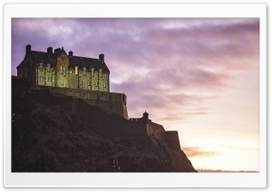 Edinburgh Castle HD Wide Wallpaper for Widescreen