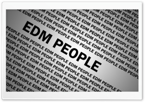 EDM PEOPLE HD Wide Wallpaper for Widescreen