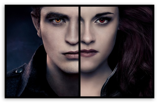 Edward And Bella Vampire HD wallpaper for Wide 16:10 5:3 Widescreen WHXGA WQXGA WUXGA WXGA WGA ; HD 16:9 High Definition WQHD QWXGA 1080p 900p 720p QHD nHD ; UHD 16:9 WQHD QWXGA 1080p 900p 720p QHD nHD ; Standard 4:3 5:4 Fullscreen UXGA XGA SVGA QSXGA SXGA ; Tablet 1:1 ; iPad 1/2/Mini ; Mobile 4:3 5:3 3:2 5:4 - UXGA XGA SVGA WGA DVGA HVGA HQVGA devices ( Apple PowerBook G4 iPhone 4 3G 3GS iPod Touch ) QSXGA SXGA ;