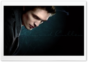 Edward Cullen HD Wide Wallpaper for Widescreen