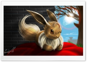 Eevee (Pokemon) HD Wide Wallpaper for Widescreen