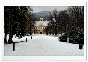 Eggenberg Castle Graz Austria HD Wide Wallpaper for Widescreen