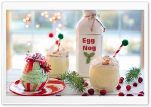 Eggnog Beverage HD Wide Wallpaper for 4K UHD Widescreen desktop & smartphone