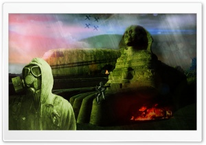 Egypt Apocalyptic HD Wide Wallpaper for Widescreen