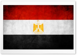 Egypt Flag By Alamir HD Wide Wallpaper for 4K UHD Widescreen desktop & smartphone