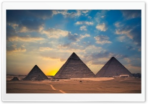 Egypt Pyramids HD Wide Wallpaper for Widescreen