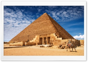 Egyptian Pyramid HD Wide Wallpaper for 4K UHD Widescreen desktop & smartphone
