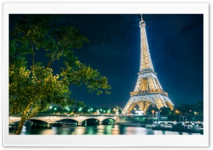 Eiffel Tower Ultra HD Wallpaper for 4K UHD Widescreen desktop, tablet & smartphone