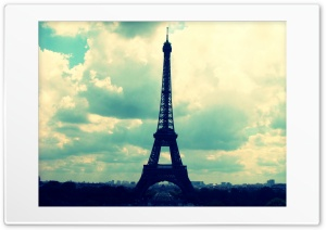 Eiffel Tower HD Wide Wallpaper for Widescreen