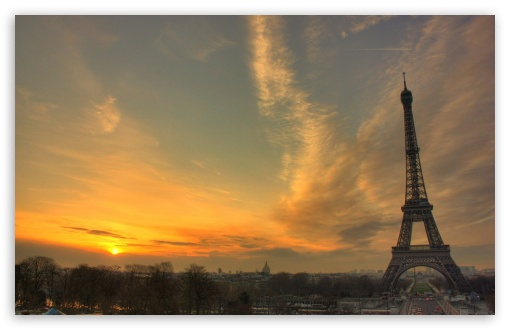 Eiffel Tower At Sunset HD wallpaper for Wide 16:10 5:3 Widescreen WHXGA WQXGA WUXGA WXGA WGA ; HD 16:9 High Definition WQHD QWXGA 1080p 900p 720p QHD nHD ; Standard 4:3 5:4 3:2 Fullscreen UXGA XGA SVGA QSXGA SXGA DVGA HVGA HQVGA devices ( Apple PowerBook G4 iPhone 4 3G 3GS iPod Touch ) ; Tablet 1:1 ; iPad 1/2/Mini ; Mobile 4:3 5:3 3:2 16:9 5:4 - UXGA XGA SVGA WGA DVGA HVGA HQVGA devices ( Apple PowerBook G4 iPhone 4 3G 3GS iPod Touch ) WQHD QWXGA 1080p 900p 720p QHD nHD QSXGA SXGA ;