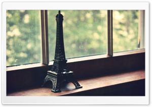 Eiffel Tower Miniature HD Wide Wallpaper for 4K UHD Widescreen desktop & smartphone