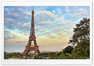 Eiffel Tower, Paris, France HD Wide Wallpaper for 4K UHD Widescreen desktop & smartphone