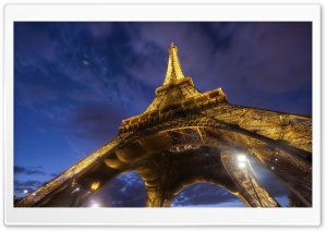 Eiffel Tower, Paris, France, Europe HD Wide Wallpaper for Widescreen
