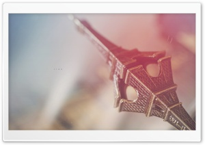 Eiffel Tower Reflection HD Wide Wallpaper for Widescreen