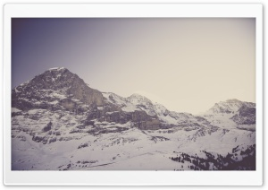 Eiger Nordwand Mountain HD Wide Wallpaper for Widescreen