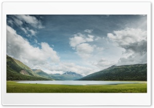 Eklutna Lake, Alaska, Nature, Landscape HD Wide Wallpaper for 4K UHD Widescreen desktop & smartphone
