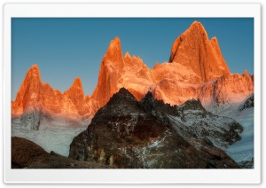 El Chalten, Patagonia HD Wide Wallpaper for Widescreen