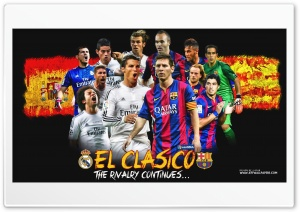EL CLASICO HD Wide Wallpaper for Widescreen