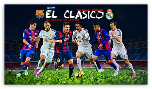 EL CLASICO ❤ 4K UHD Wallpaper for 4K UHD 16:9 Ultra High Definition 2160p 1440p 1080p 900p 720p ; Mobile 16:9 - 2160p 1440p 1080p 900p 720p ;