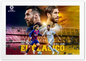 EL CLASICO HD Wide Wallpaper for 4K UHD Widescreen desktop & smartphone