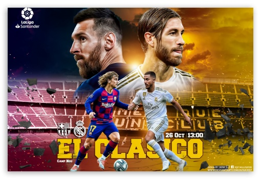 EL CLASICO UltraHD Wallpaper for Standard 3:2 Fullscreen DVGA HVGA HQVGA ( Apple PowerBook G4 iPhone 4 3G 3GS iPod Touch ) ; Mobile 3:2 - DVGA HVGA HQVGA ( Apple PowerBook G4 iPhone 4 3G 3GS iPod Touch ) ;