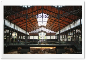 el mercat del born - Barcelona HD Wide Wallpaper for Widescreen