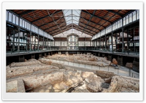El Mercat del Born Barcelona, Catalonia HD Wide Wallpaper for Widescreen