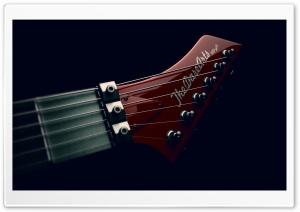 Electric Guitar Headstock Design Ultra HD Wallpaper for 4K UHD Widescreen desktop, tablet & smartphone