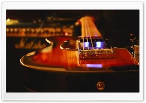 Electric Guitar Recording Studio HD Wide Wallpaper for 4K UHD Widescreen desktop & smartphone