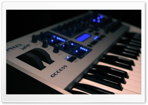 Electric Piano HD Wide Wallpaper for Widescreen