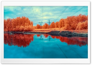 Electricity Infrared Photography Ultra HD Wallpaper for 4K UHD Widescreen desktop, tablet & smartphone