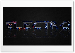 Electro HD Wide Wallpaper for Widescreen